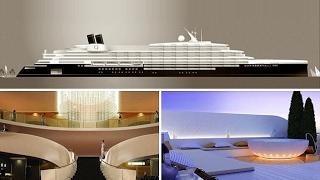 فيديو وصور| بتكلفة 250 مليون إسترليني.. العالم يستعد لاستقبال أكبر نادي بحري