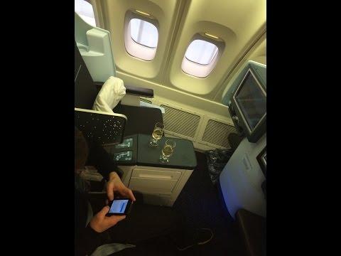 KLM *NEW* World Business Class Boeing 747 UpperDeck