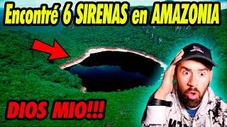 HOMBRE REVELA QUE VIO 6 SIRENAS EN UN LAGO DE LA AMAZONIA