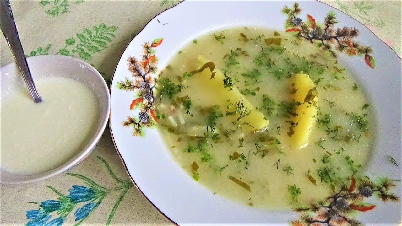Разгрузочный, похмельный суп на 1-е Января.  Доступный, полезный.