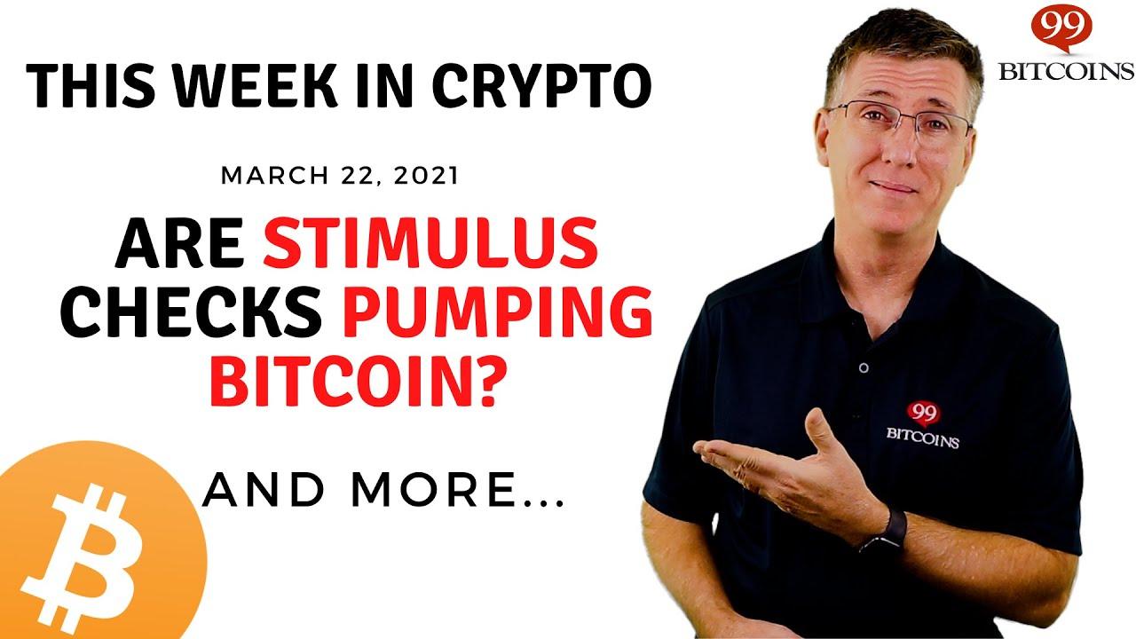 Are Stimulus Checks Pumping Bitcoin?