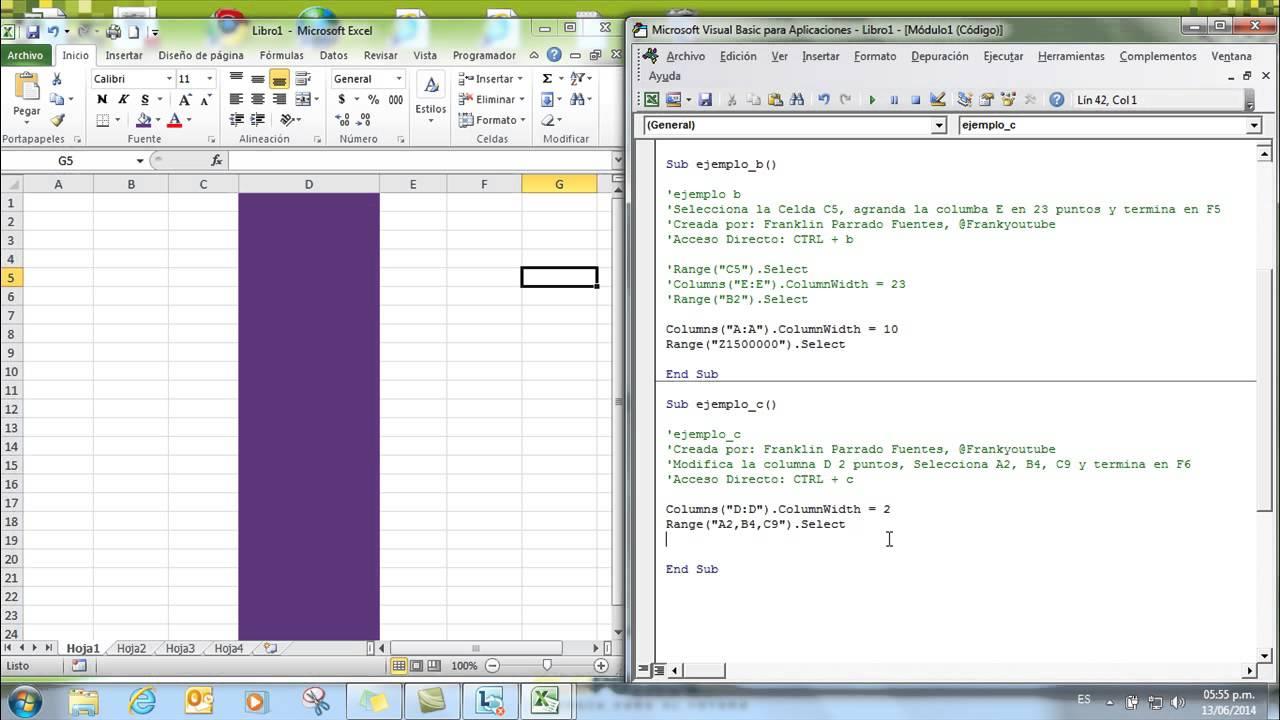 Macros In Excel 2010 Tutorial Pdf