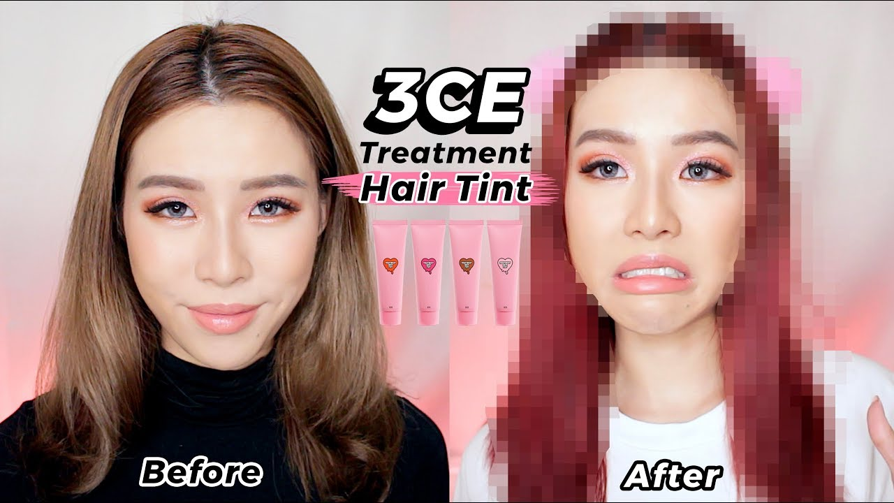 How to tint the hair
