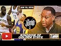 McGrady Says Golden State Won't Allow LeBron James To Win One More Ring | The Jump | Jan 19, 2018
