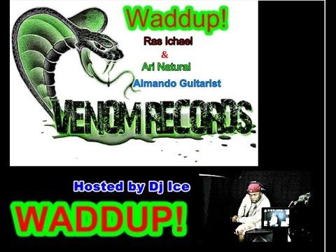 Waddup! Venom Records Featuring Ari Natural, Ras Ichael and Almando