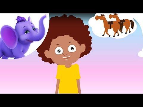 If  Wishes Were Horses - Nursery Rhyme With Karaoke