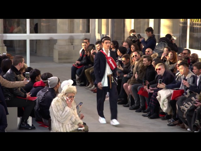 Highlights from the Louis Vuitton Men's Autumn-Winter 2017 Fashion Show