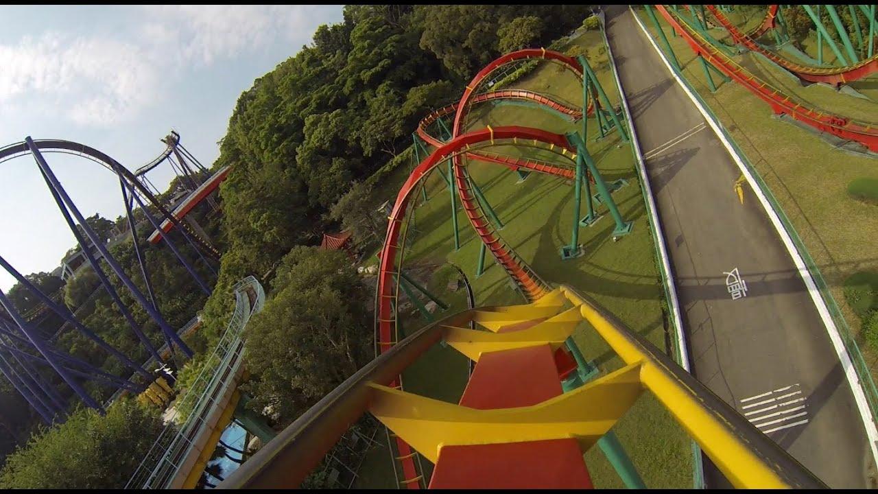 Insane speed roller coaster pov b m floorless janfusun for M floor meaning