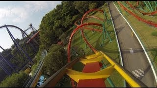 Insane Speed Roller Coaster POV B&M Floorless Janfusun Fancyworld Taiwan