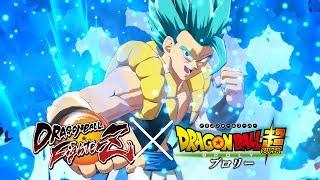 Dragon Ball FighterZ - Super Saiyan Blue Gogeta Mod Gameplay (Dragon Ball Super Broly) (4k 60fps)