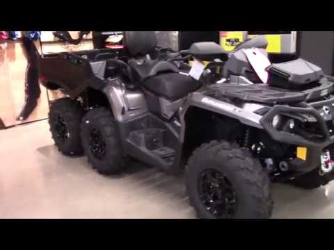 2019 Can-Am DEMO OUTLANDER MAX 6X6 XT 1000 - New ATV For Sale - Elyria, Ohio