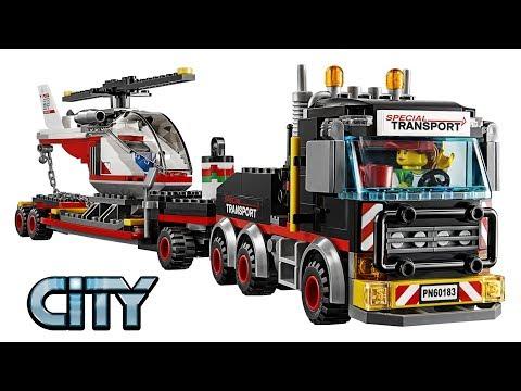 Lego City 60183 Heavy Cargo Transport - Lego Speed Build Review