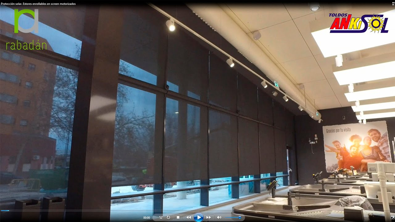 Protecci n solar estores enrollables en screen motorizados - Estores enrollables motorizados ...