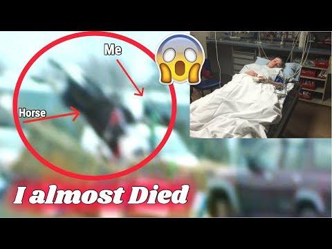 Horrific Horse Riding Fall || Rotational fall (footage) *NOT clickbait*