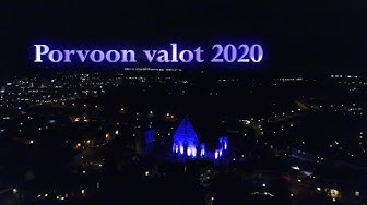 Porvoon valot 2020 - light art festival, valofestivaali