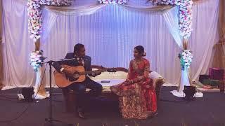 Romantic guitar songs | Groom sings for bride | wedding reception