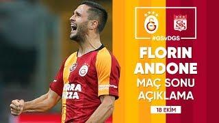 🎙 Florin Andone'nin Maç Sonu Açıklamaları | #GSvDGS