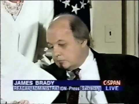 President Clinton Signs The Brady Bill