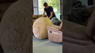 Giant Rubber Band Ball Part 75 #Shorts