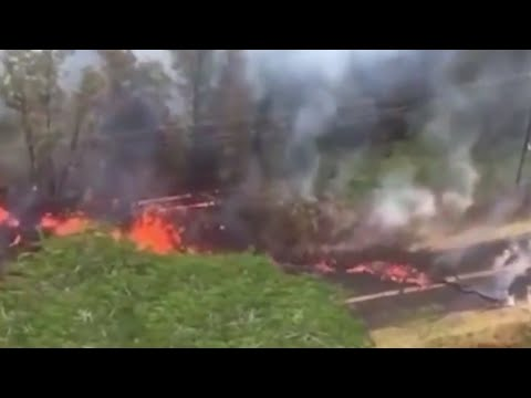 Hawaii volcano: Fresh lava eruptions