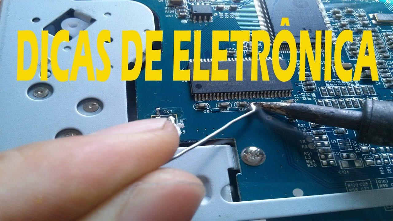 Dicas para iniciantes em eletrônica(capacitores estufados)