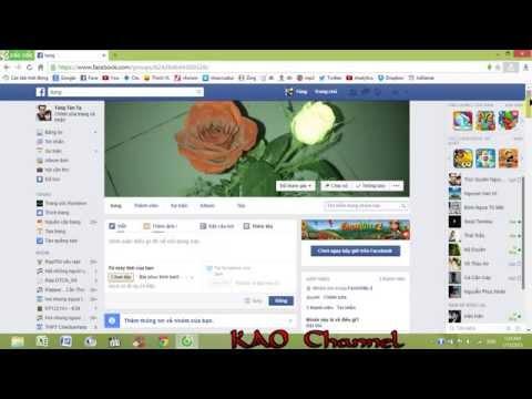 Hướng dẫn cách đăng tải file lên facebook