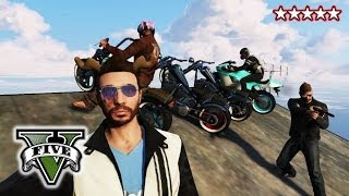 GTA BIKER GANG!!! - Riding & Killing with the Crew GTA V - GTA 5 BIKE CUSTOMIZATION