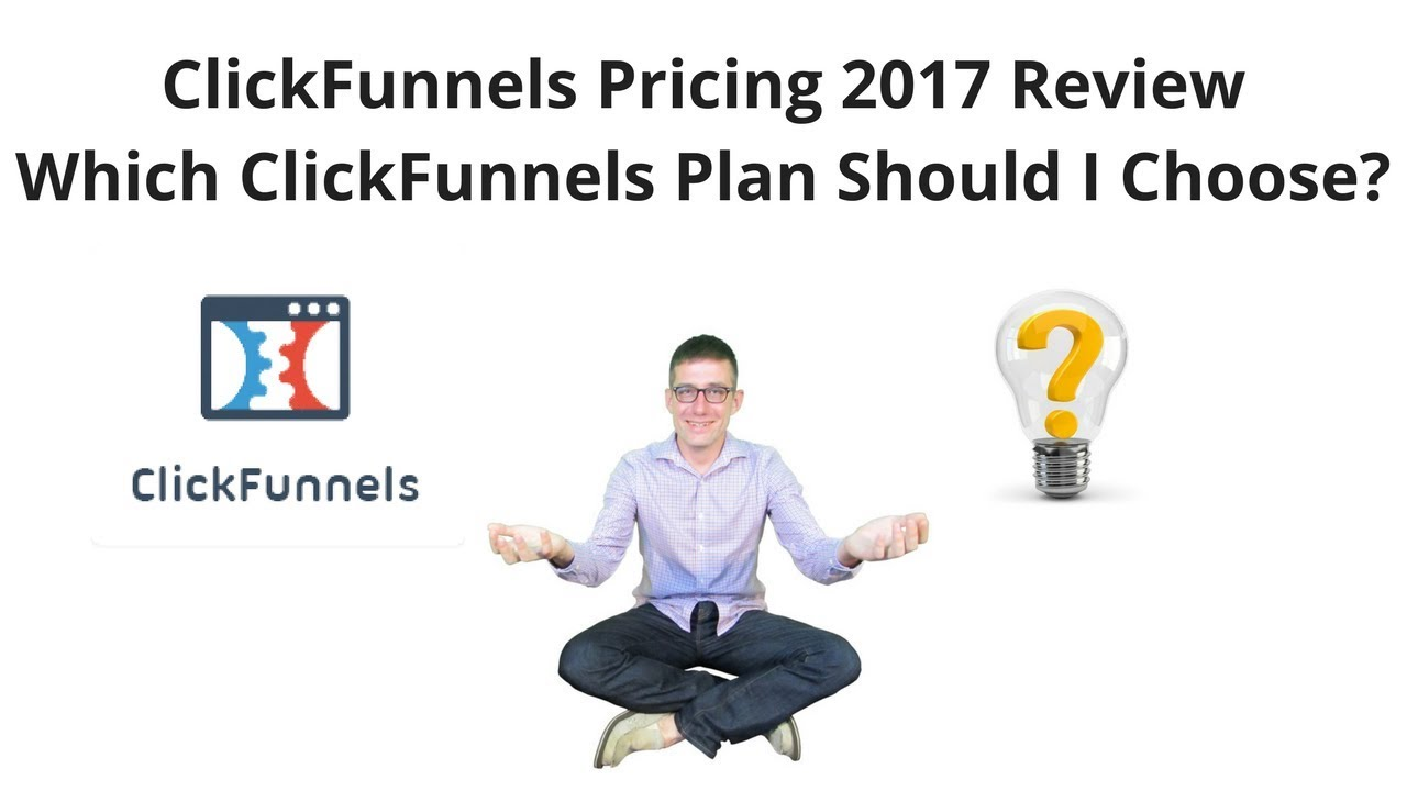 ClickFunnels Pricing 2017 Review How Much Does ClickFunnels Cost?