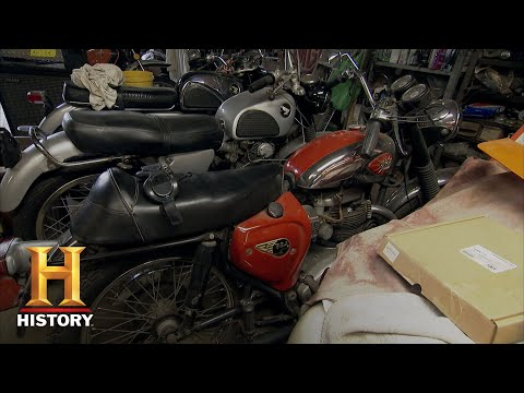 American Pickers: BSA Motorcycle Gets Frank Revved Up (Season 20) | History