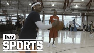Allen Iverson Practices for Debut of Ice Cube's BIG3 League | TMZ Sports