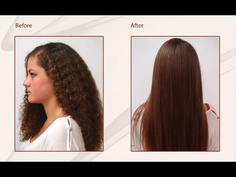خلطة طبيعية سهلة ومجربة لفرد الشعر المجعد وتنعيمه