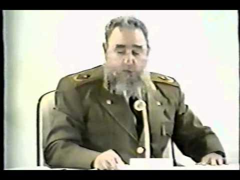 08- 1989 julio, Causa 1, Palabras de Fidel Castro