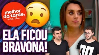 CATIA FONSECA DÁ ESPORRO EM CHEFE NO MELHOR DA TARDE AO VIVO! | Virou Festa