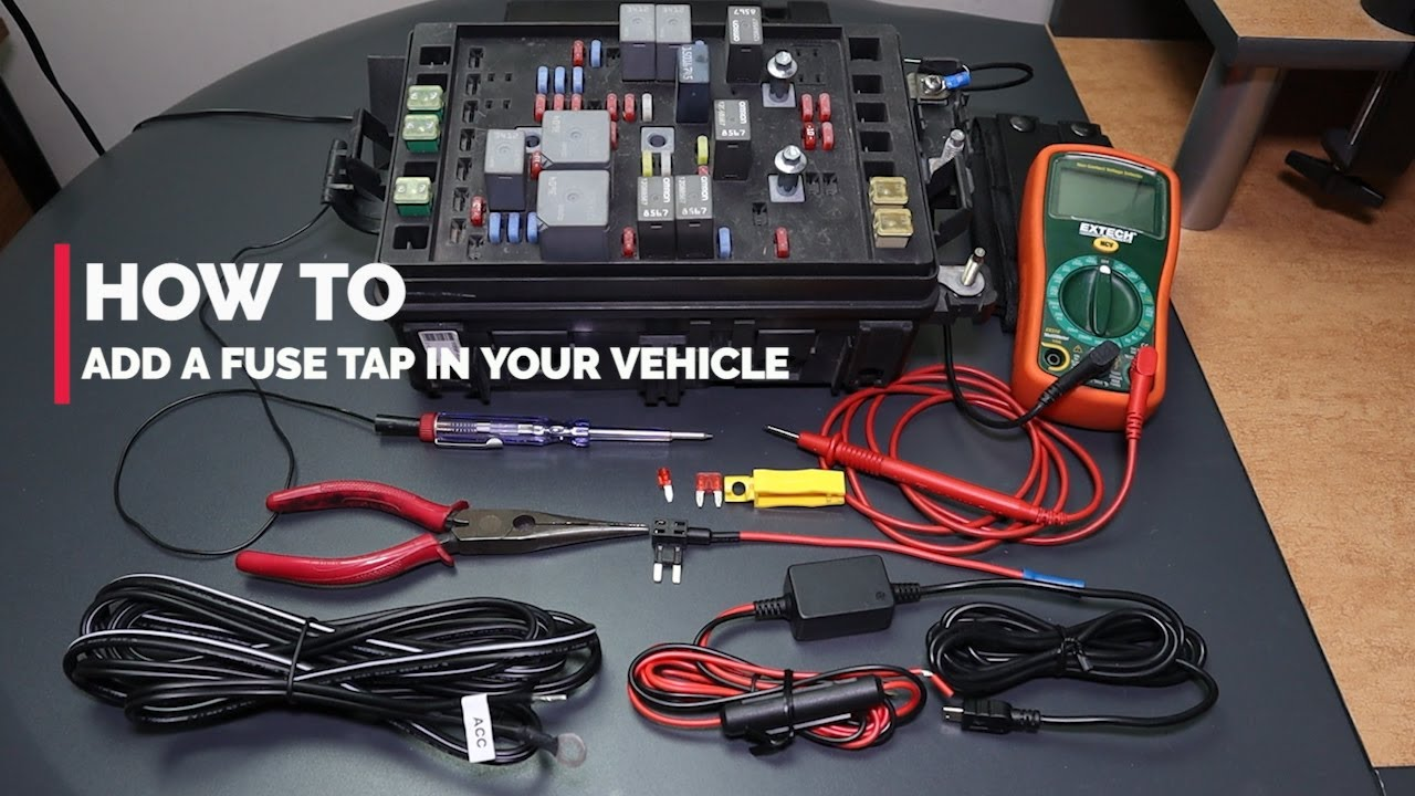 How To - Add a Fuse Tap in Your Vehicle - YouTube | Adding To Fuse Box |  | YouTube
