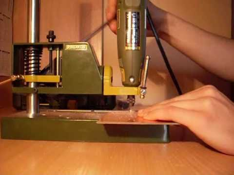 proxxon fbs 240 e pcb drilling youtube. Black Bedroom Furniture Sets. Home Design Ideas