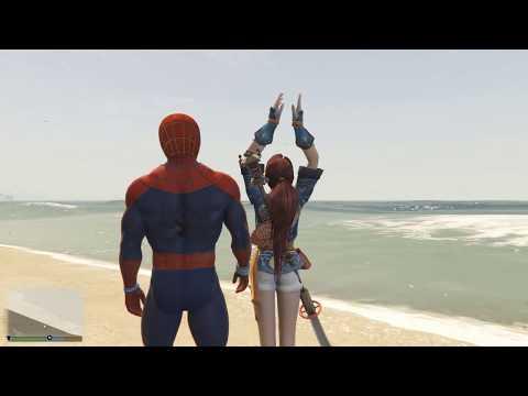 Gta 5: Спайдермен везет девушку на свидание - реальная жизнь гта 5