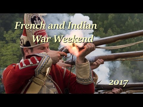 French and Indian War Weekend 2017 - Fort at Number 4