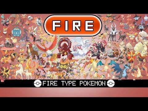 All Fire Type Pokémon
