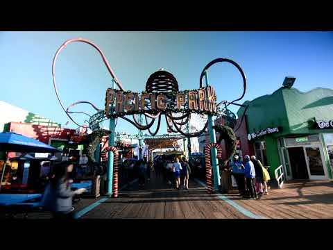 PYT (Michael Jackson) Steel Pan/Drum cover on the Santa Monica Pier