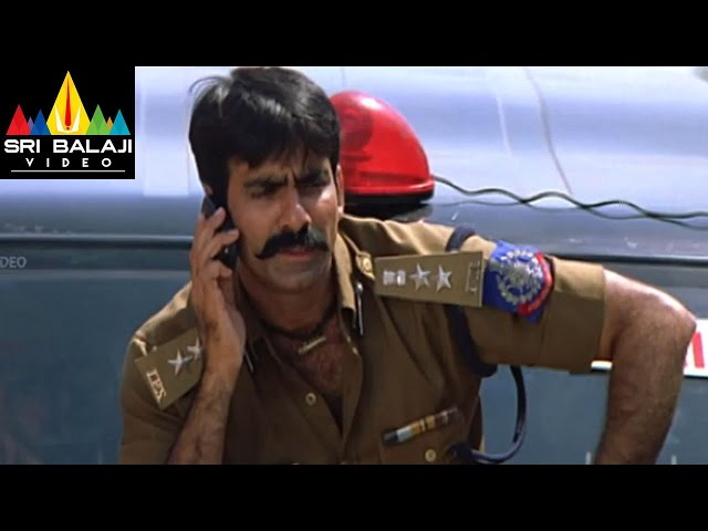 Vikramarkudu Movie Raghu Babu Comedy Scene | Ravi Teja, Anushka | Sri Balaji Video