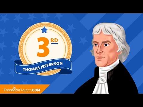 Thomas Jefferson   Presidential Minute