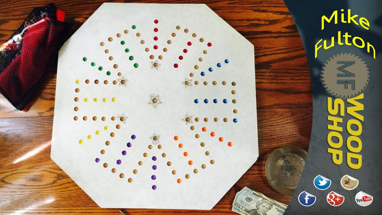 Aggravation Game Board - YouTube