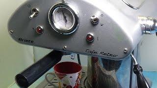 Ariete Kafe Retro espresso mashina ta'mirlash, suv emas