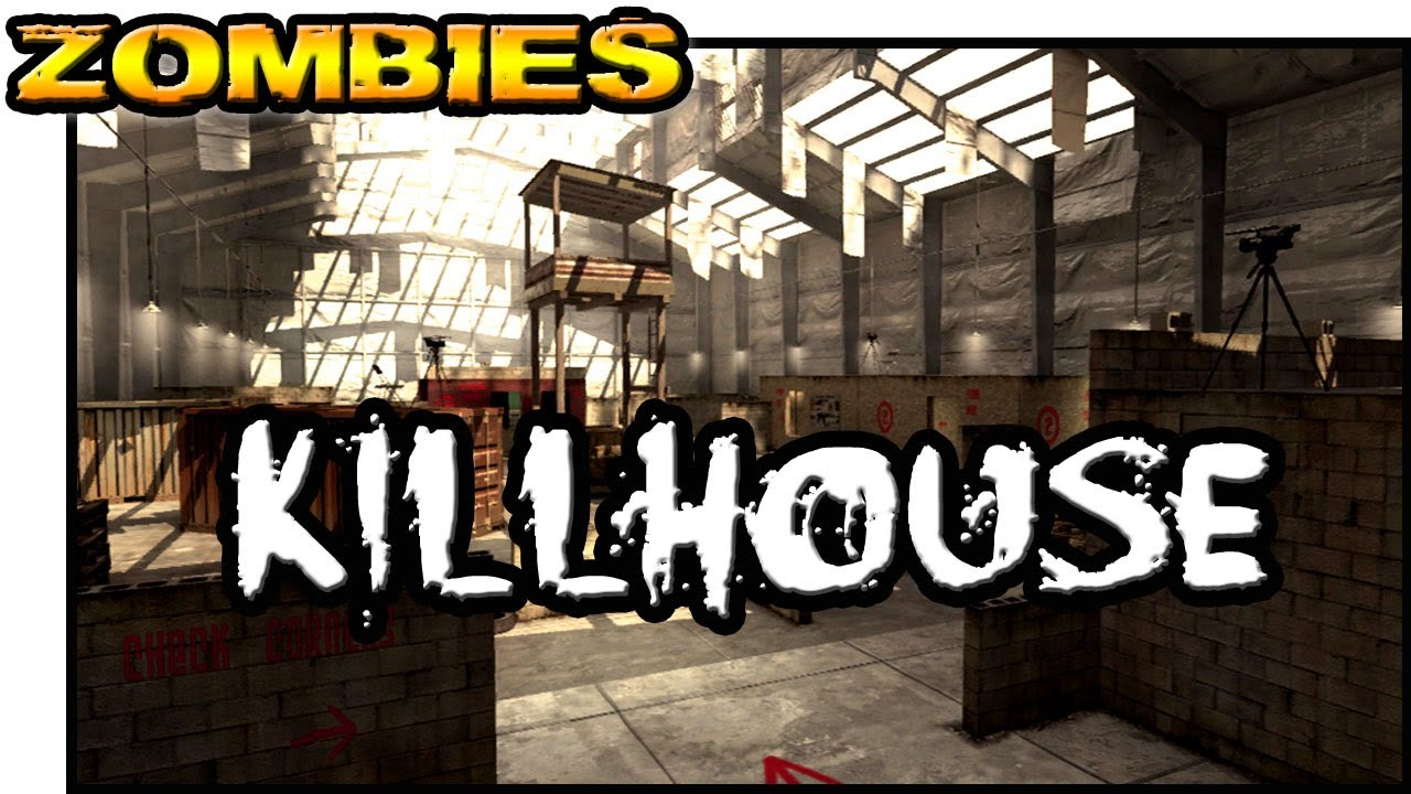 COD4 KILLHOUSE ★ Left 4 Dead 2 (L4D2 Zombie Games)