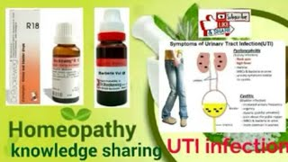 UTI ! Homeopathic Medicine for urinary tract infection