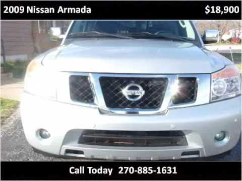 2009 nissan armada used cars hopkinsville ky youtube. Black Bedroom Furniture Sets. Home Design Ideas
