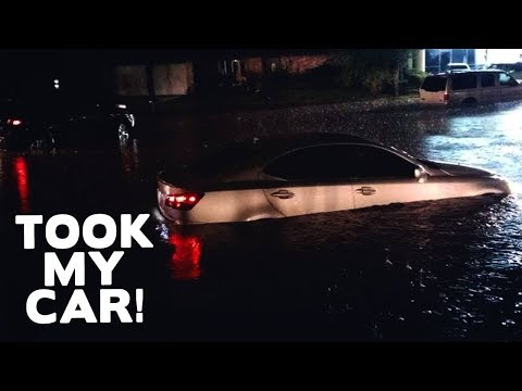 Hurricane Harvey Took My Car LAST NIGHT!....Sigh  @DCIGS