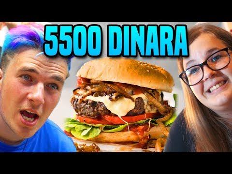 50 DIN PLJESKA protiv 5500 DIN PLJESKAVICA!