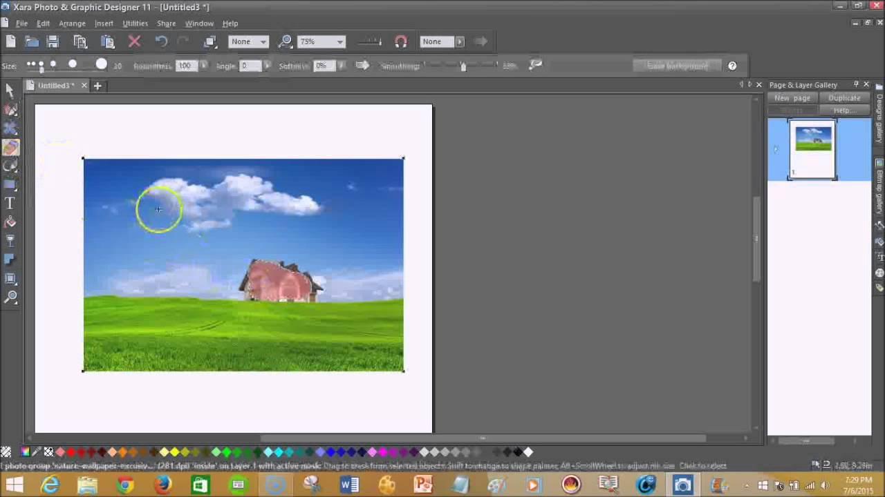 Xara Photo & Graphic Designer 11 Review - YouTube