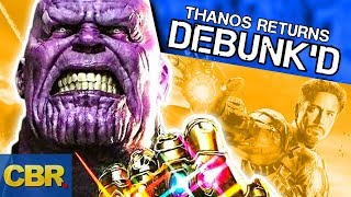 Marvel Theory Debunk'd: Will Thanos Still Be The Main Villain In Avengers 4 | Episode 2